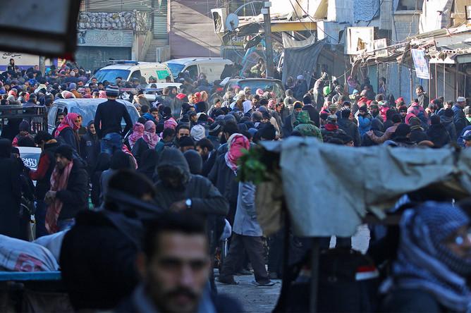 Восточный Алеппо, 15 декабря 2016 года
