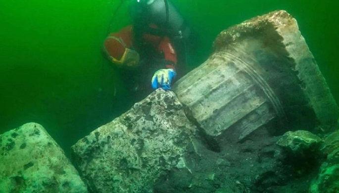 «Египетская Атлантида»: в затонувшем городе нашли храм