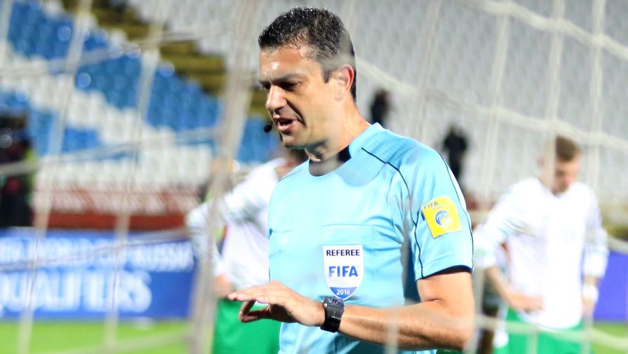Глава департамента судейства Российского футбольного союза (РФС) Виктор Кашшаи