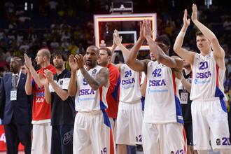Баскетболисты ЦСКА мечтают сменить прошлогодние бронзовые медали Евролиги на золото нынешнего сезона