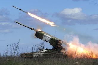 Огнеметная система ТОС-1А «Буратино»