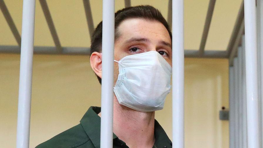 Гражданин США Тревор Рид, обвиняемый в нападении на полицейского в Москве в августе 2019 года