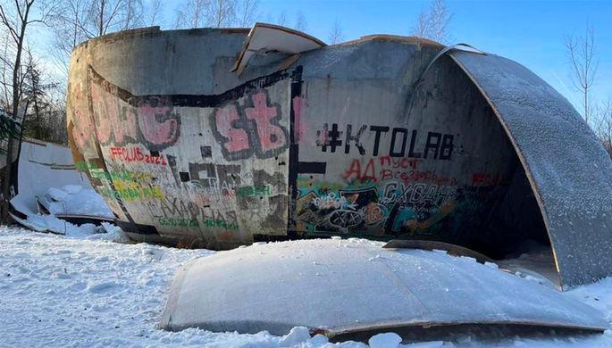 Шар под Дубной разрушен: версии гибели блогерской достопримечательности