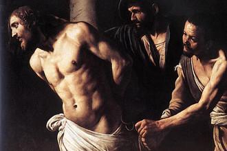 Караваджо, «Христос у колонны». 1607