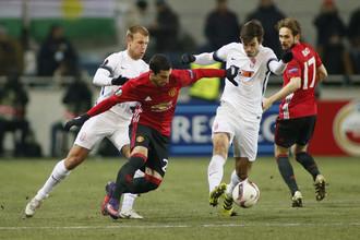 Генрих Мхитарян забил первый гол за «Манчестер Юнайтед»