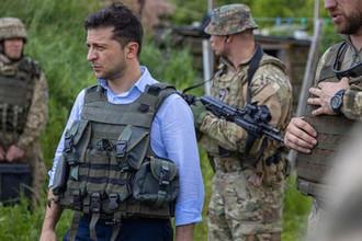 Владимир Зеленский в Донбассе, 27 мая 2019 года