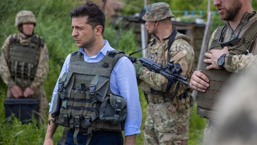 Обсудить вопросы мира: Зеленский приехал в Донбасс