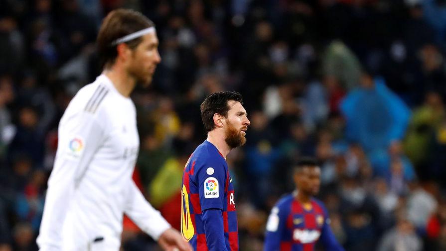 Эпизод матча «Реал» — «Барселона», Серхио Рамос, Лионель Месси
