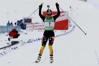 34-летняя Андреа Хенкель выиграла масс-старт в Холменколлене