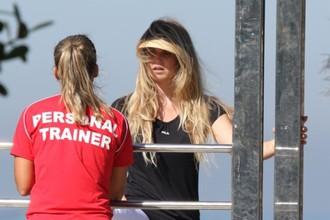 Сюзана Вернер и ее персональный тренер