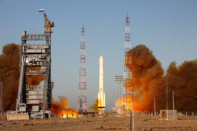 «Протон-М» не смог вывести на орбиту спутники «Экспресс-МД2» и «Телком-3»