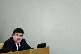 Алексей Митрофанов на пленарном заседании Госдумы РФ