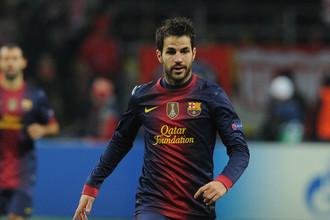 Дубль Сеска Фабрегаса принес «Барселоне» победу над «Сельтой»