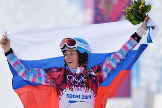Сноубордистка Алена Заварзина выиграла бронзу в параллельном гигантском слаломе