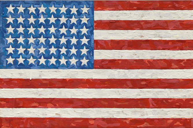 Джаспер Джонс. «Флаг»