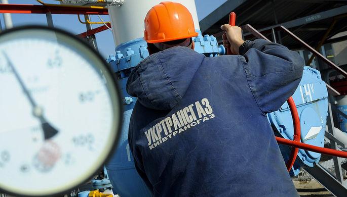 Украина тянет газ мимо ДНР