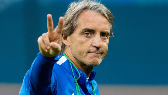 Итальянский тренер Роберто Манчини