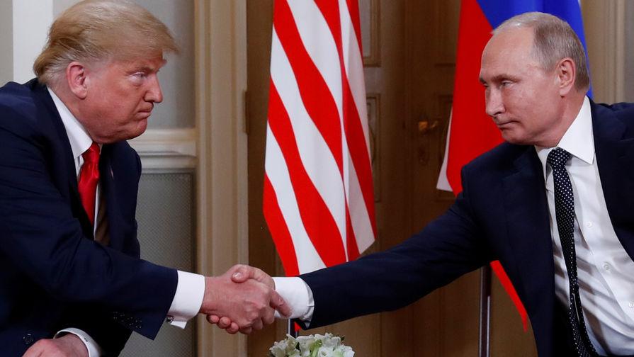 Названы дата и время встречи Путина и Трампа