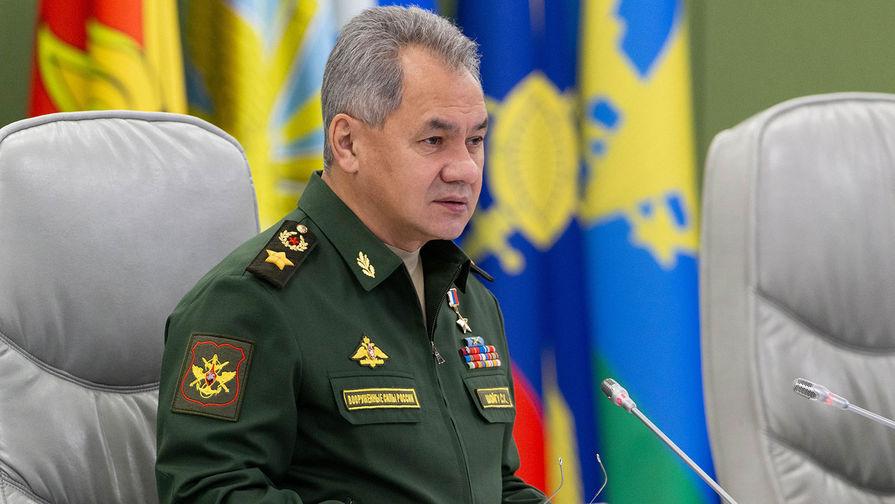 Шойгу подтвердил приверженность России к диалогу с США по ДРСМД