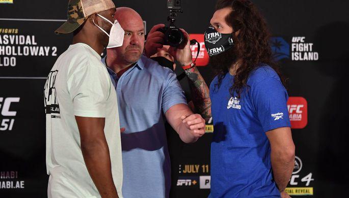 На уровне боя Хабиб — Конор: UFC 251 стал трендом