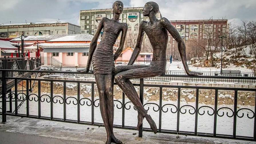 Скульптуры в парке «Дружба»