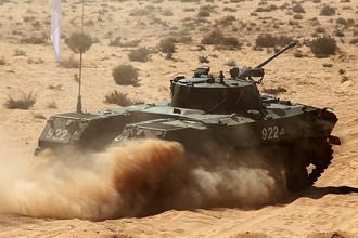 Военная техника во время российско-египетских антитеррористических учений «Защитники дружбы — 2016»