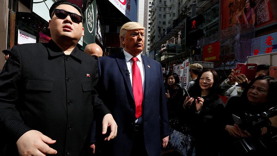 Трамп заявил о вынужденной отмене встречи с Ким Чен Ыном