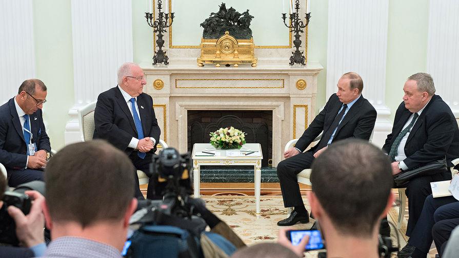 Президент Израиля случайно нанес исторический визит в Россию