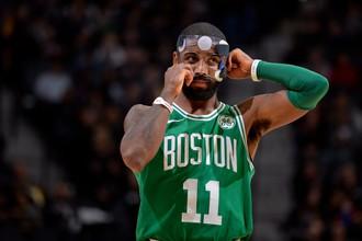 Разыгрывающий «Бостон Селтикс» Кайри Ирвинг