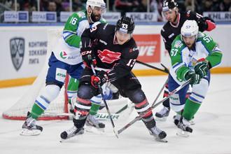Хоккейный матч «Салават Юлаев» — «Авангард»