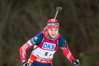Ирина Старых победила в индивидуальной гонке на чемпионате Европы по биатлону — 2017