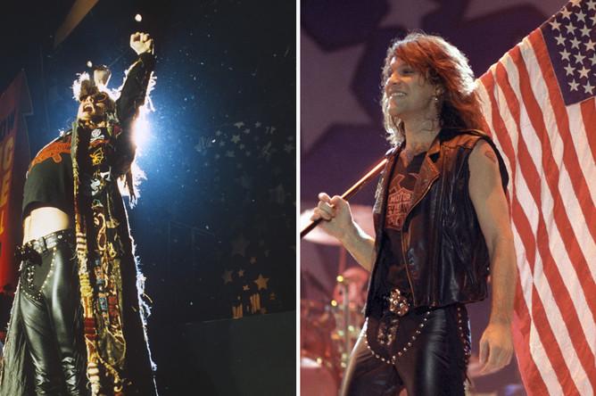Выступление Bon Jovi на стадионе «Лужники» (на тот момент — стадионе имени Ленина) на Московском международном фестивале мира, август 1989 года