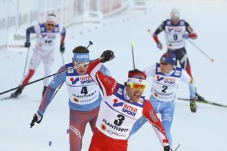 Сергей Устюгов занял второе место в масс-старте на 50 км на чемпионате мира в финском Лахти