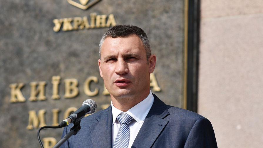 Мэр города Киева Виталий Кличко