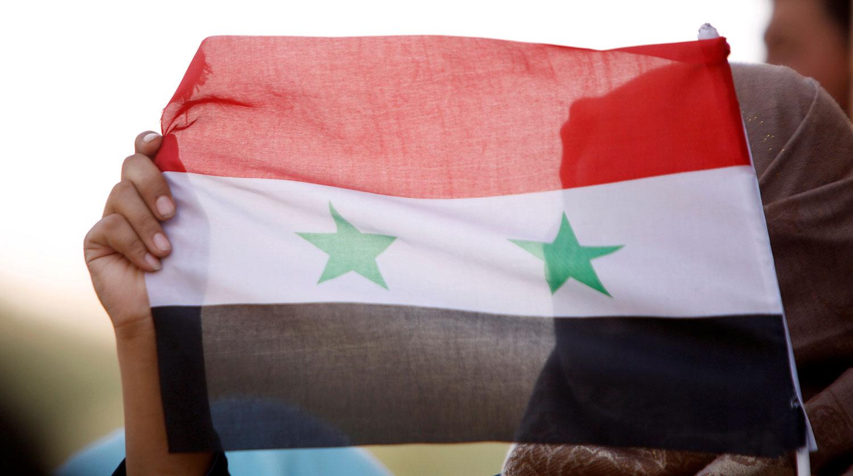 Появилось видео отражения силами ПВО удара по Дамаску