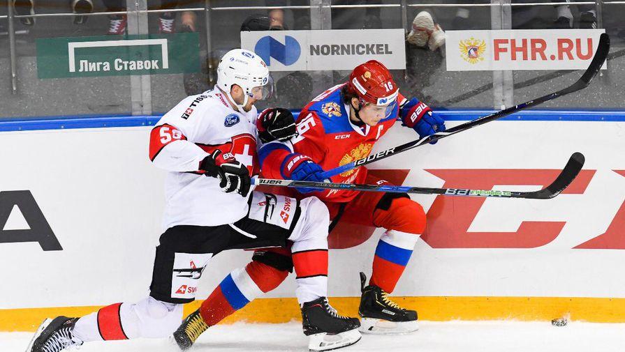 Россия обыграла Швейцарию в матче Еврочелленджа