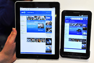 Суд в Лондоне отказал Apple в запрете на продажи Galaxy Tab