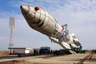 Нештатный запуск ракеты-носителя «Протон-М» связан с аварийной работой разгонного блока «Бриз-М»