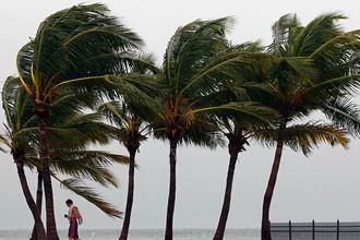 На юге США объявлено штормовое предупреждение