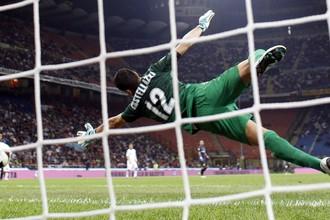 В матче с «Ромой» Лука Кастелацци пропустил два мяча