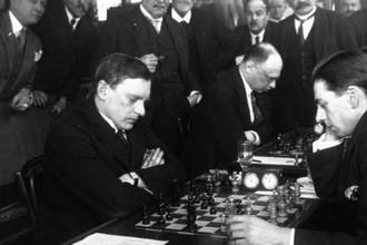 Легендарный Александр Алехин весь в игре