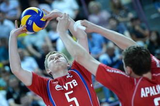 Сергей Гранкин — один из лидеров сборной России