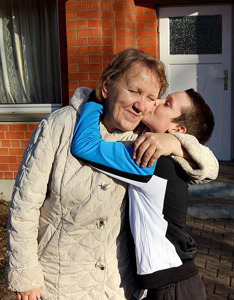 Мама Нина Васильевна из детской деревни-SOS в Томилино. Фотография: Пресс-служба