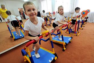 Оздоровительная физкультура в детском саду