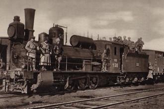 Поезд Колчака с золотым запасом