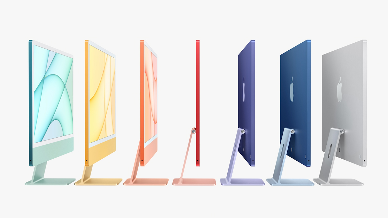 Новый iMac во время весенней презентации Apple, 20 апреля 2021 года