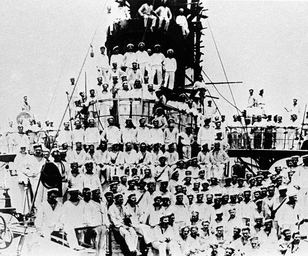Команда крейсера «Аврора», 1905 год