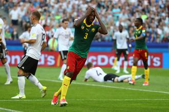Эпизод встречи Кубка конфедераций — 2017 между сборными Германии и Камеруна