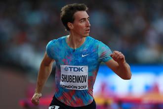 Сергей Шубенков квалифицировался в финал забега на 110 м с барьерами