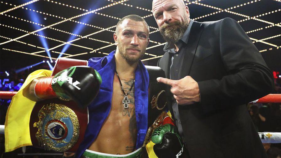 Украинский боксер Василий Ломаченко